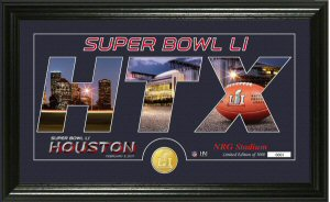 Super Bowl 51 Commemorative Photo Mint
